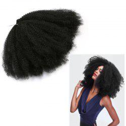 Longue peluche afro Kinky Curly Synthetic Hair Weave
