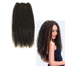 Long Fluffy Curly Heat Resistant Fiber Hair Weaves