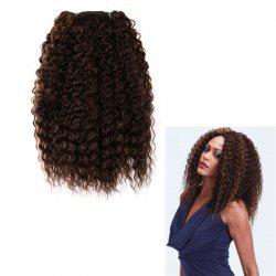 Long Shaggy Deep Wave Heat Resistant Fiber Hair Weaves
