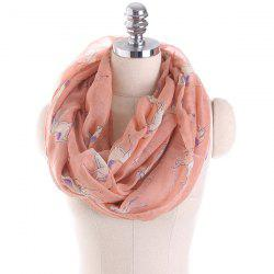 Horse Printed Infinity Scarf