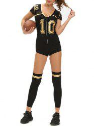 Costume de football Halloween -