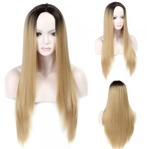 Adiors Long Colormix Middle Part Straight Synthetic Wig