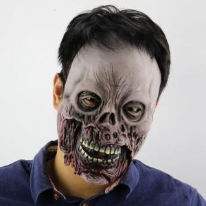 Halloween Decor Zombie Printed Mask - Colorful