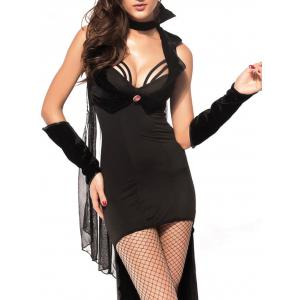 Princess Vampire Halloween Costume - BLACK L