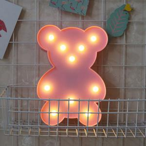 Little Bear Shape Decoration Night Light