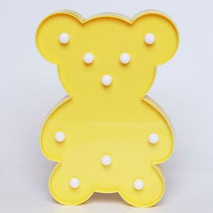 Little Bear Shape Decoration Night Light -