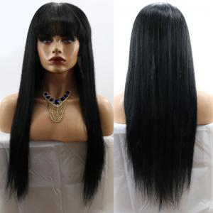 Full Bang Long Straight Synthetic Wig