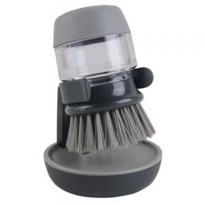 Kitchen Tool Liquid Soap Dish Pot Brush