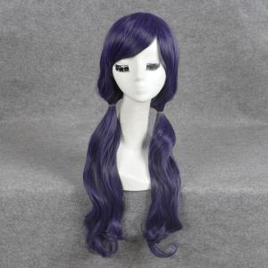 Long Inclined Bang Wavy Love Live Nozomi Tojo Cosplay Wig