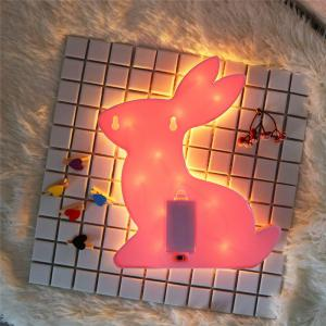 Exquisite Rabbit Shape Decoration Night Light -