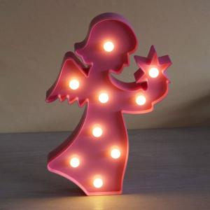 Angel Shape Decoration Night Light -