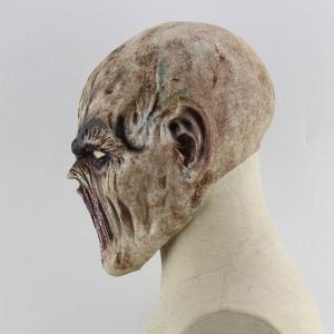 Masque Tête Décoration D'Halloween Imprimé Monstre en Latex -