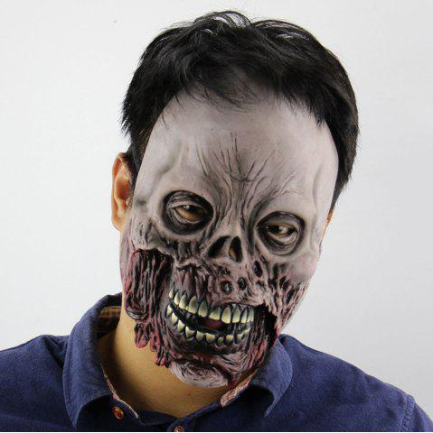 Chic Halloween Decor Zombie Printed Mask