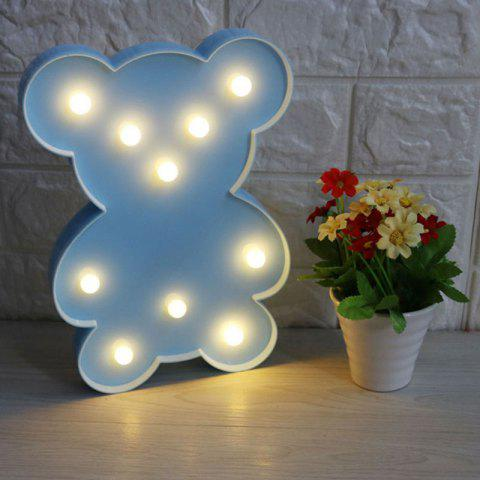 Affordable Little Bear Shape Decoration Night Light