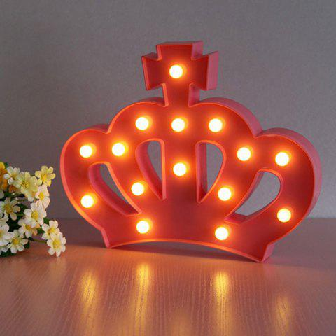 Crown Shape Decoration Atmosphere Lamp - Red - W60 Inch * L84 Inch