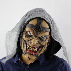 Pimp Printed Halloween Decoration Mask With Voile Cloth