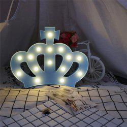 Forme de la Couronne Atmosphere Atmosphere Lamp -