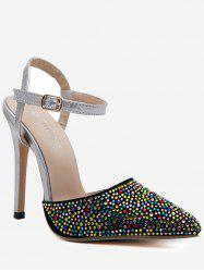 Fancy Coloured Diamond Slingback Pumps