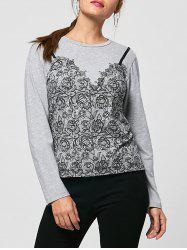 Tiny Floral Long Sleeve Tee
