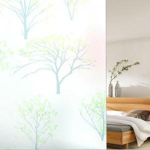 PVC Electrostatic Film Life Tree Glass Wall Decal