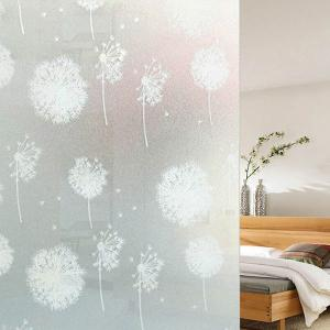 Electrostatic PVC Dandelion Glass Wall Sticker