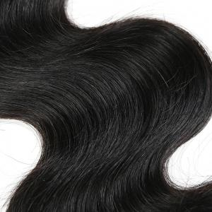 1Pc Indian Long Body Wave Human Hair Weave - NATURAL BLACK 14INCH