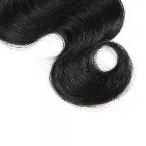 1Pc Indian Long Body Wave Human Hair Weave - NATURAL BLACK 16INCH