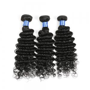 1Pc Indian Long Deep Wave Human Hair Weave