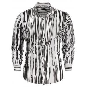 Zebra-stripe Long Sleeve Shirt