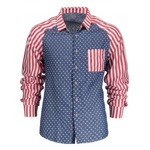 Stars and Stripes Long Sleeve Shirt