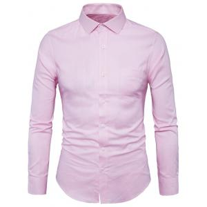Chest Pocket Long Sleeve Shirt