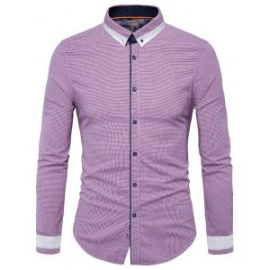 Long Sleeve Button Down Vertigo Shirt