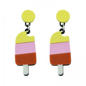 Ice Cream Round Drop Earrings