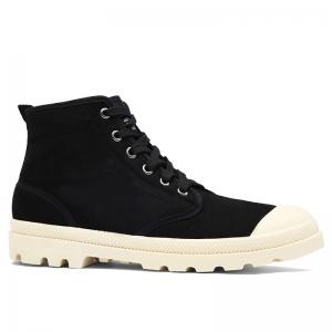 Faux Suede High-top Casual Shoes