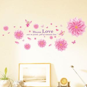 Blooming Flower Decorative Wall Decal
