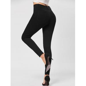 Button Fly Tight Pants -