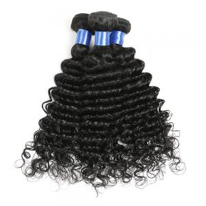 1Pc Indian Long Deep Wave Human Hair Weave -
