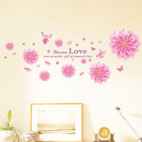 Latest Blooming Flower Decorative Wall Decal