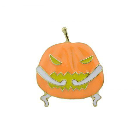 Fancy Halloween Funny Devil Pumpkin Brooch