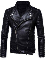 Belted Convertible Zip Up Biker Jacket