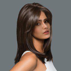 Long Side Bang Straight Synthetic Wig