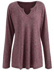 Cut Out Plus Size Knitwear