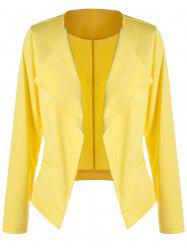Plus Size Waterfall Blazer
