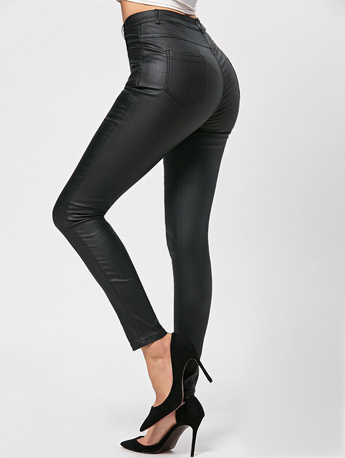 Discount Polished Fitted Pants