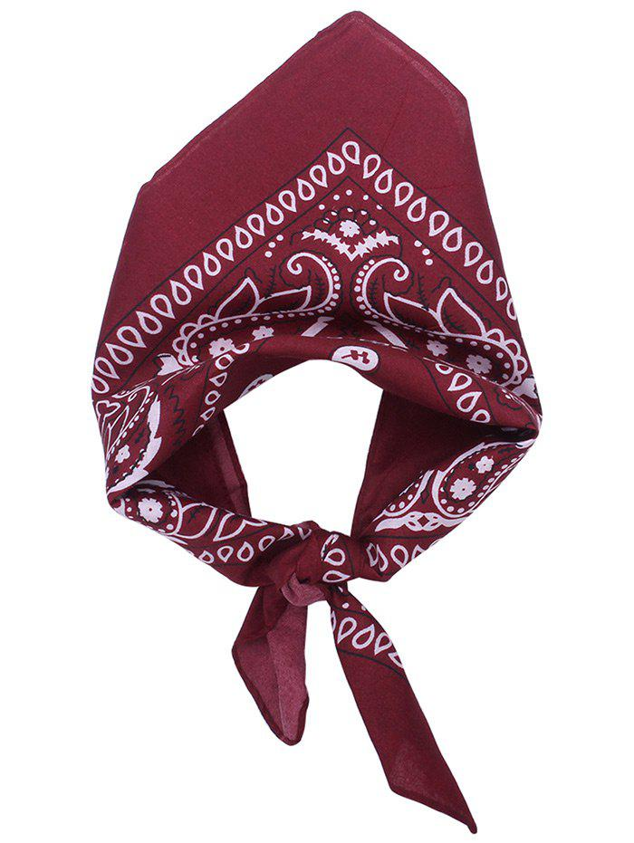 Best Square Scarf with Paisley Print