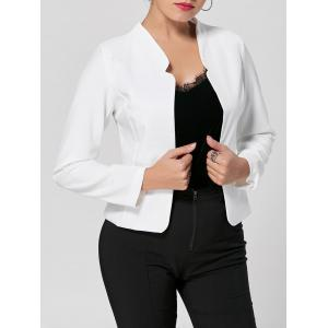Long Sleeve Cropped Blazer