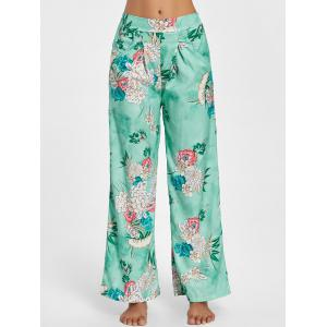 Floral Palazzo Wide Leg Pants