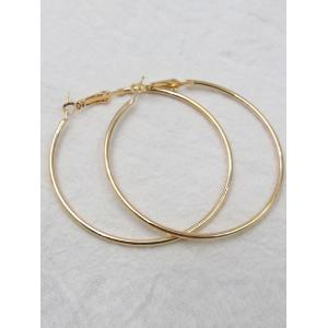 Big Hoop Exaggerate Earrings -