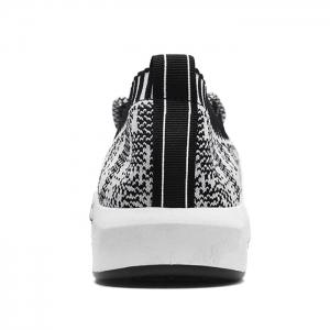 Flyknit Lace Up Casual Shoes - GRAY 42