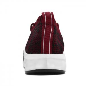 Flyknit Lace Up Casual Shoes - RED 43